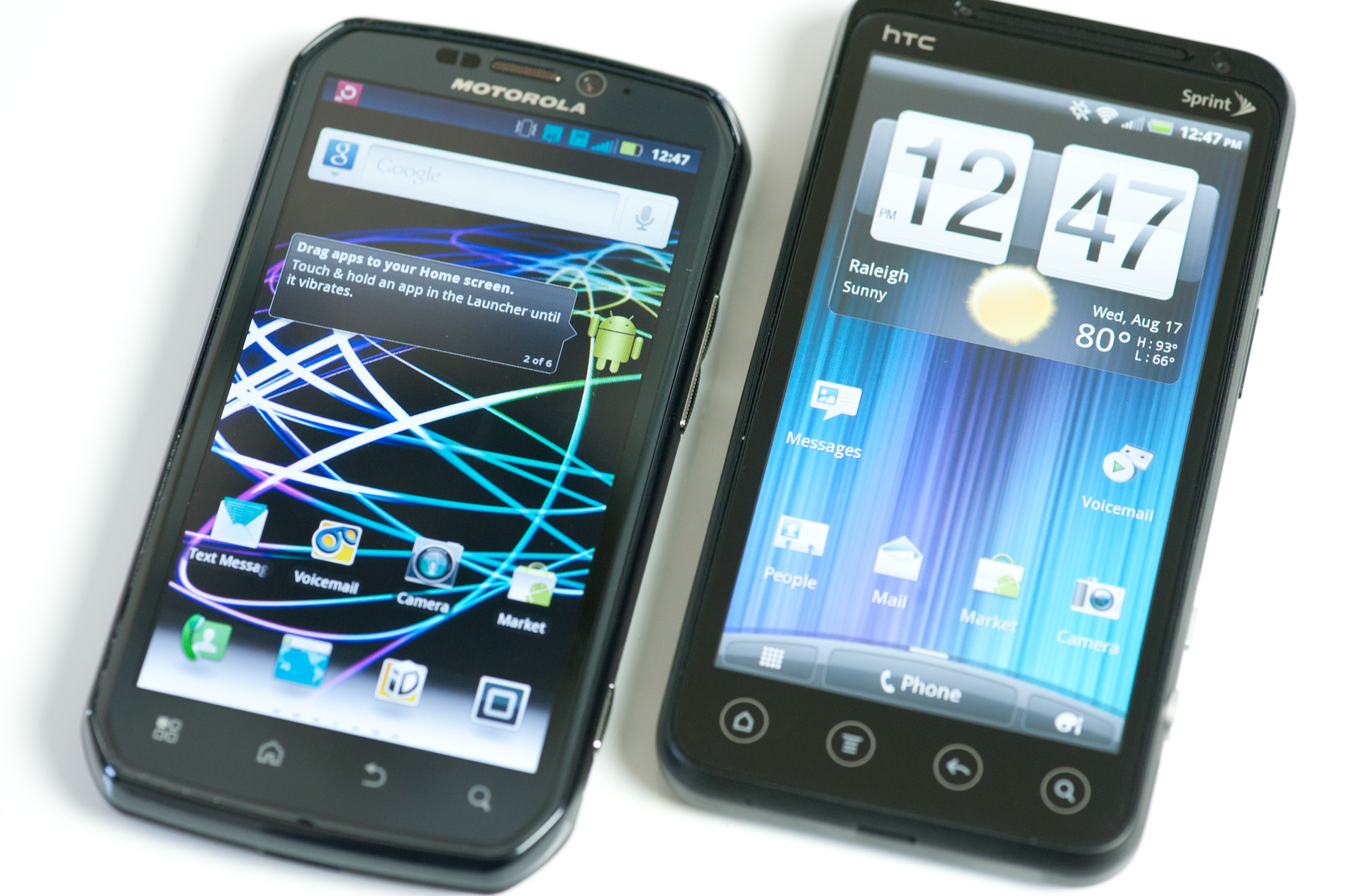 htc evo 3d vs motorola photon 4g choosing the best sprint phone rh anandtech com Motorola Photon Phone Motorola Photon Phone