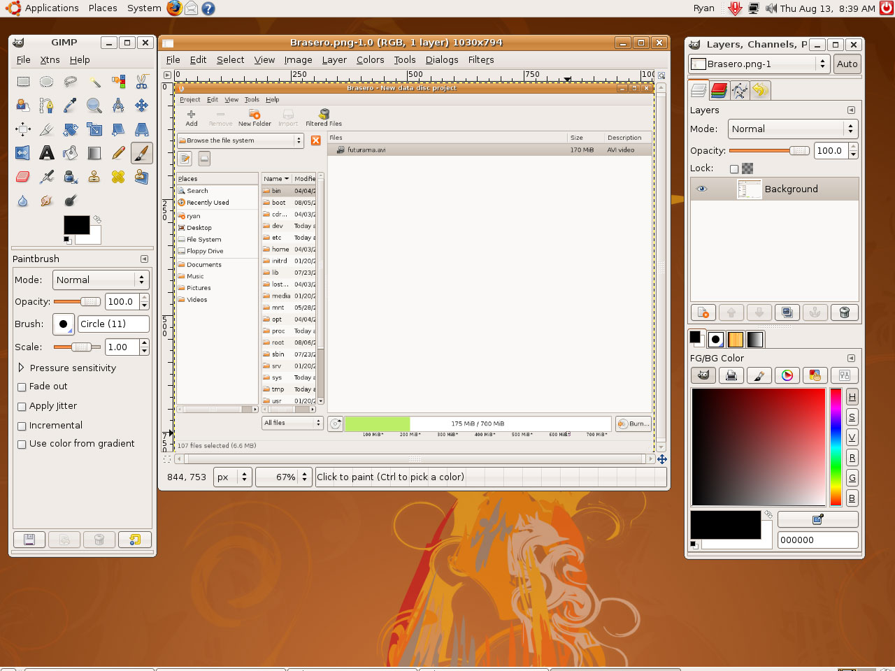 Applications Cd Burning Image Editing Revisiting Linux