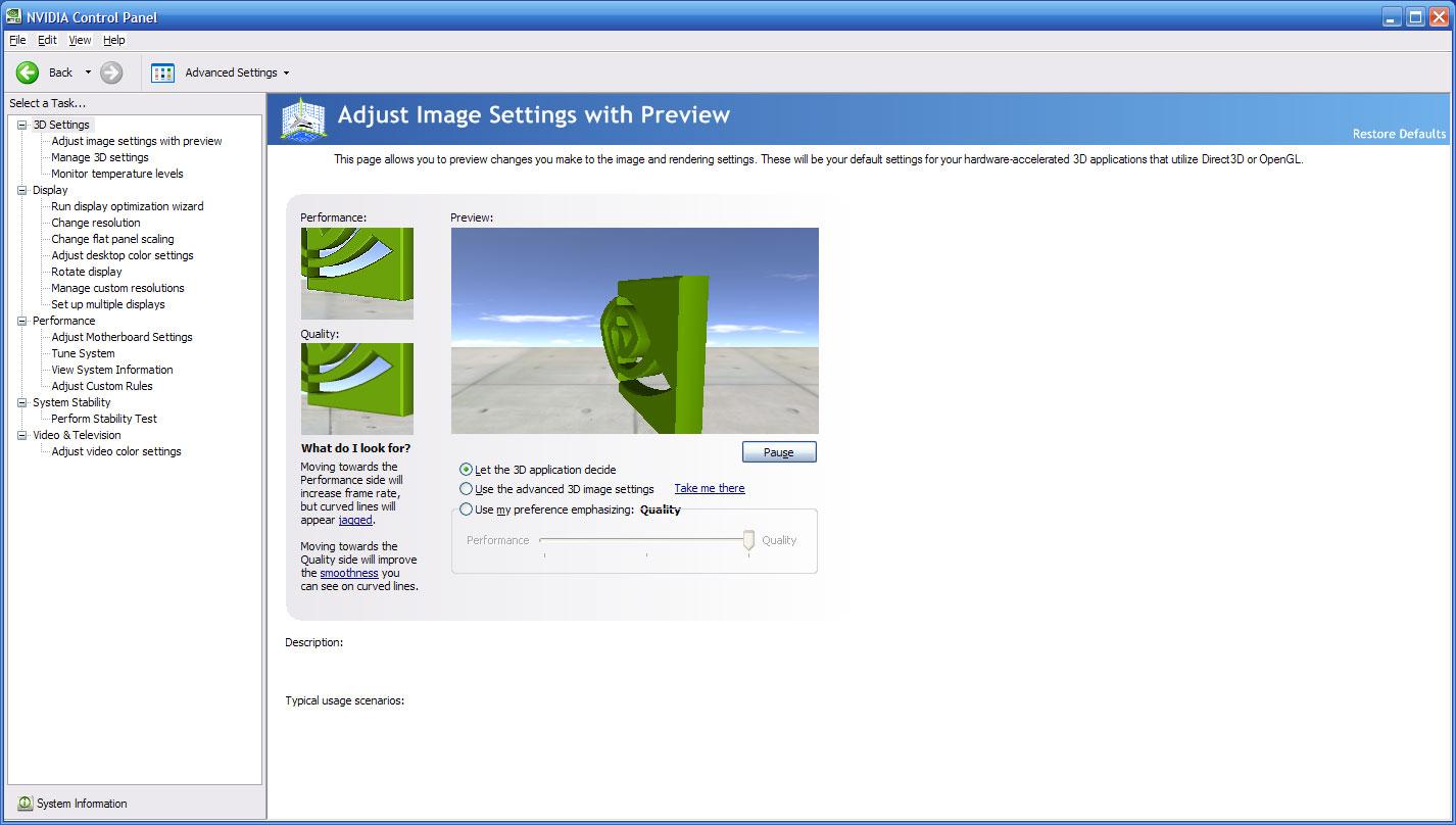 nvidia catalyst control center download