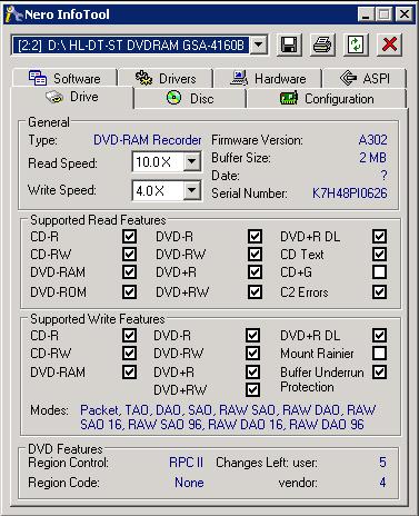 DVDRAM GSA 4160B DOWNLOAD DRIVER