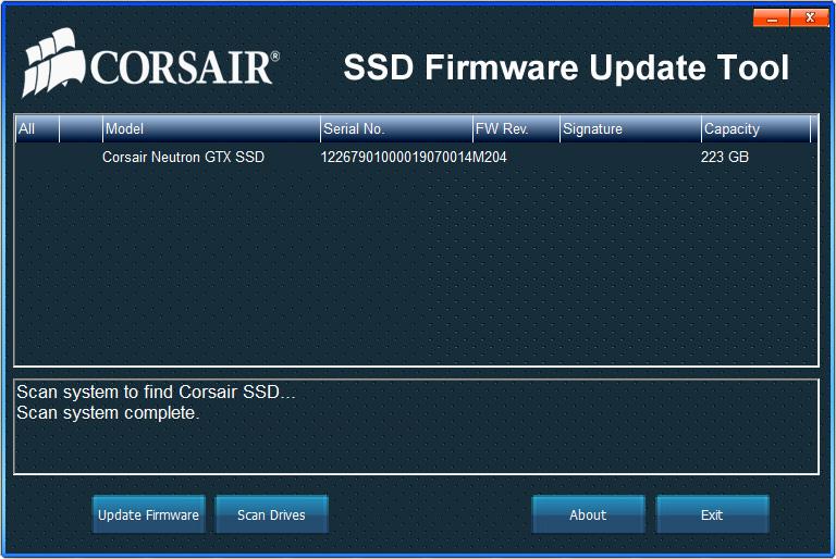 The Software, Firmware & Validation - Corsair Neutron GTX