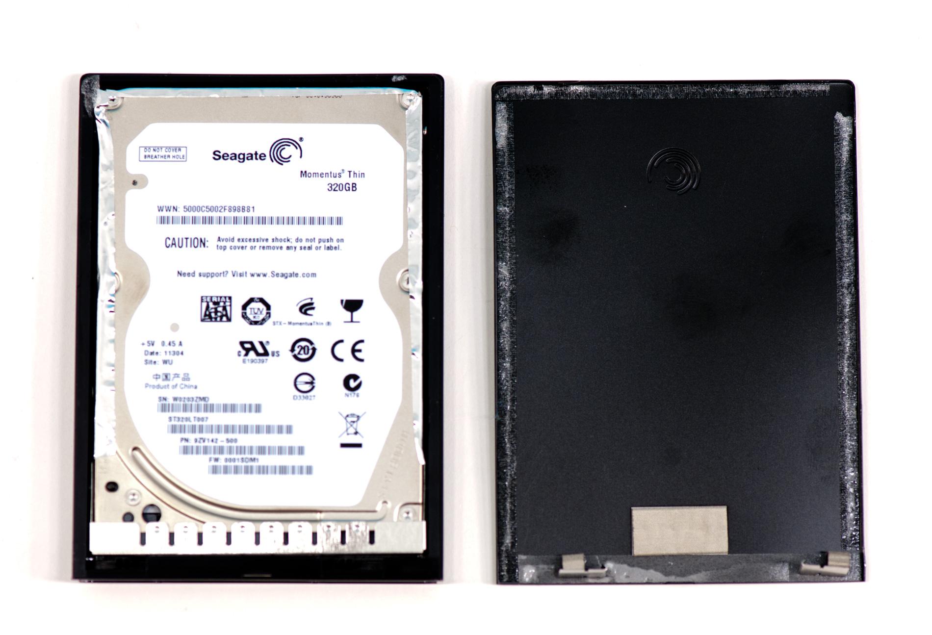 how to open seagate goflex external hard drive