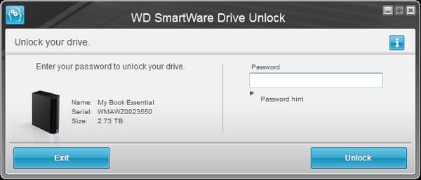 Wd My Book Smartware