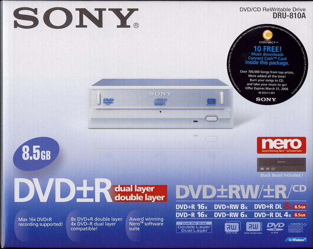 Sony dru 720a