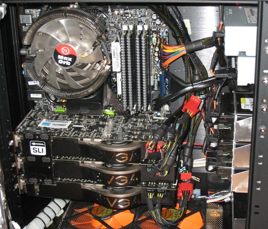 Interior Ibuypower 4 0ghz Qx9650 And 3 Way Sli 8800 Ultras