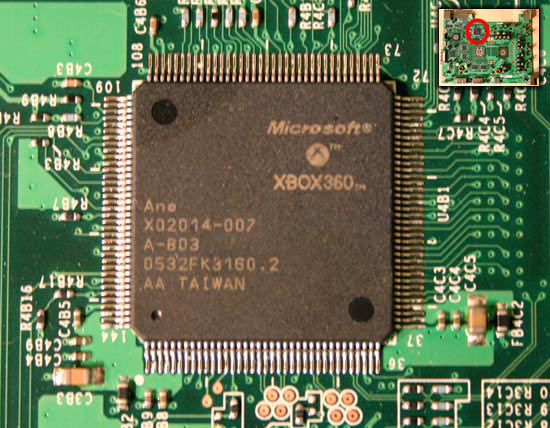dsp Xbox Motherboard Fuse Location on