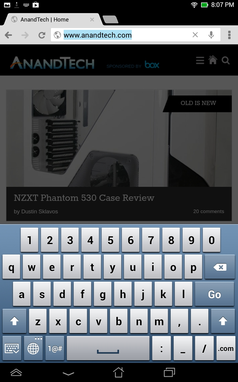 ASUS' Android Customizations - ASUS MeMO Pad HD7 Review