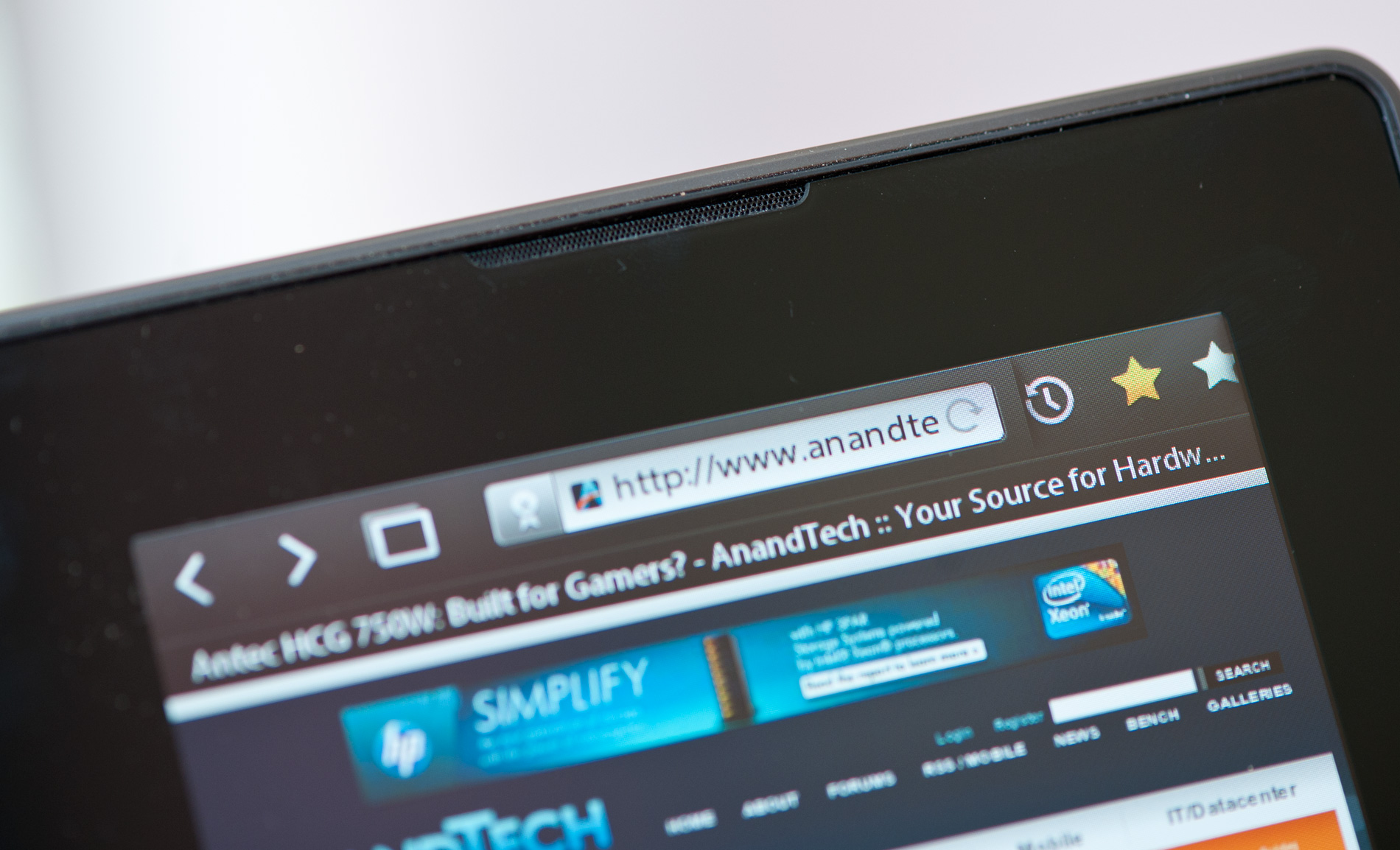 The BlackBerry PlayBook Review