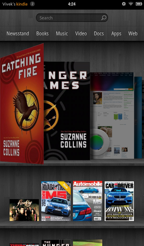 The Operating System - Amazon Kindle Fire Review