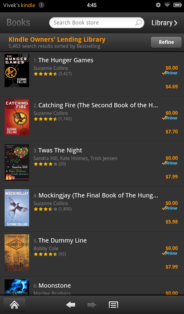 Kindle Store & Prime Instant Video/Movies - Amazon Kindle