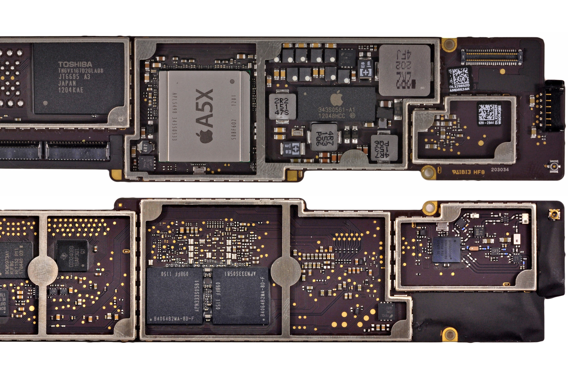 a word on packaging looking forward the apple ipad review 2012 rh anandtech com ipad 3 logic board schematic