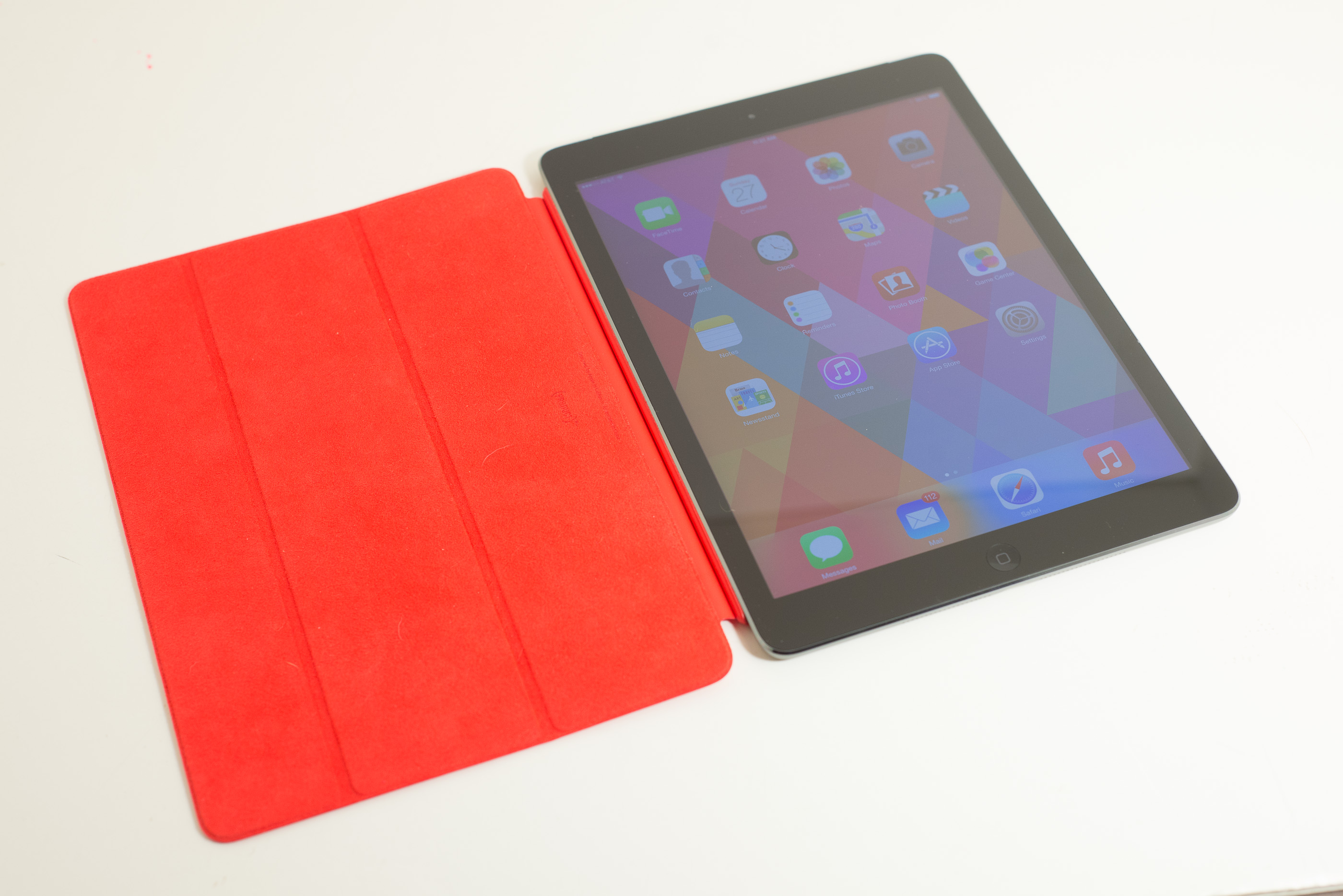 ipad air smart case leather review