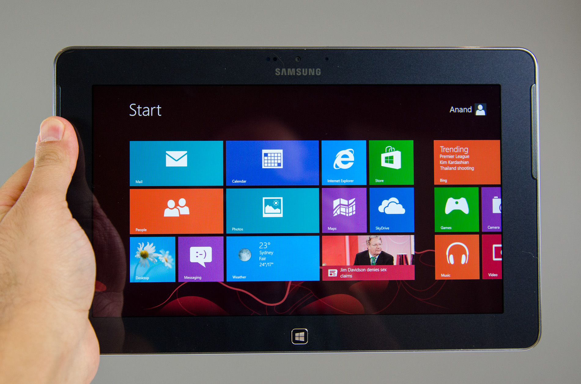 Samsung ativ tab review qualcomm s first windows rt tablet