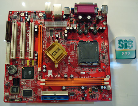 Pcchips P31G SiS Graphics Drivers for PC