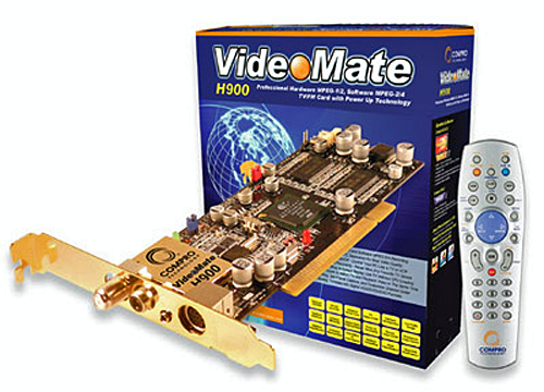 Compro VideoMate S350/S300 PCI tuner card Drivers (2019)