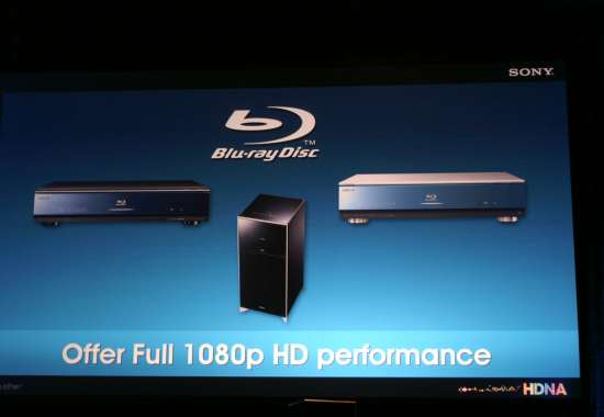Sony on Blu-ray - CEDIA 2007