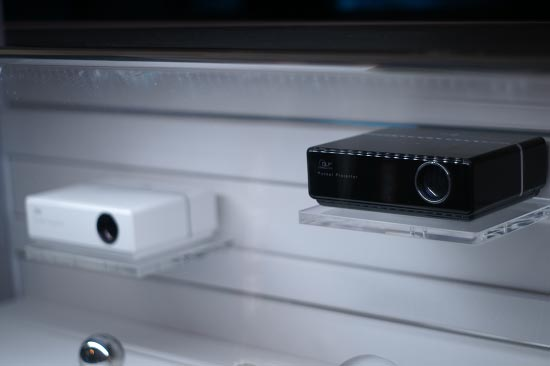 Micro dlp projectors ces 2007 the best of ce from the show for Micro dlp projector