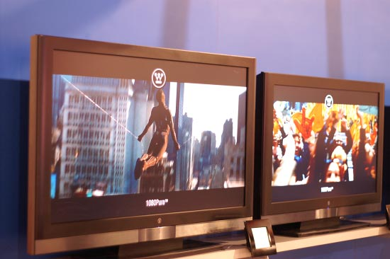 Westinghouse TX Series - Affordable 1080p LCD TVs - CES 2007