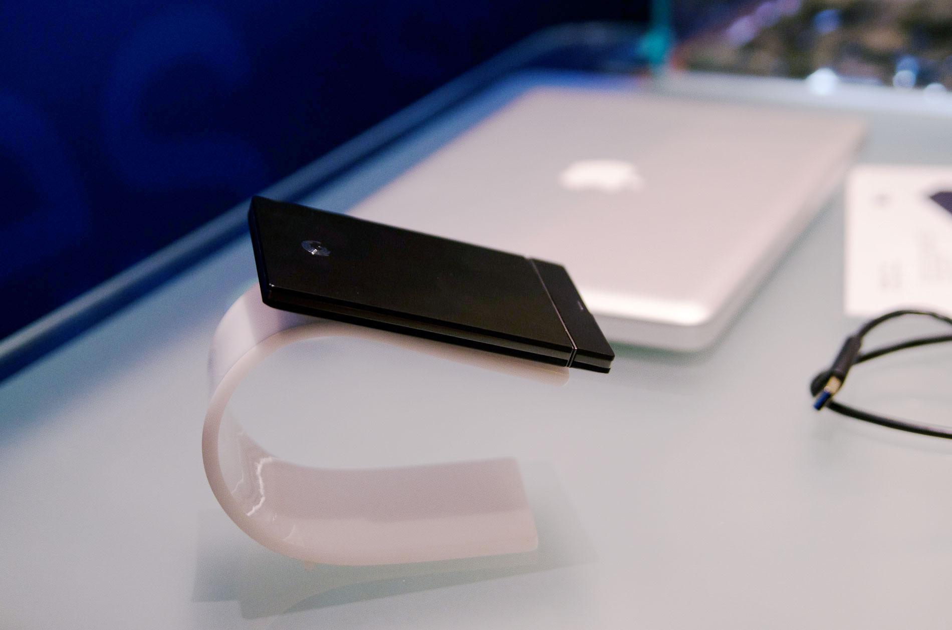 how to put stuff on external hard drive mac