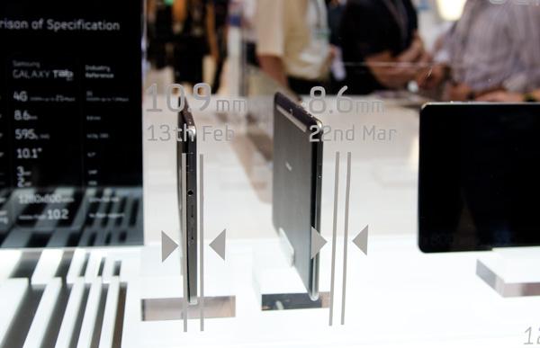 Samsung Galaxy Tab 10,1 e 8,9, più piccoli di iPad 2, a prezzi competitivi