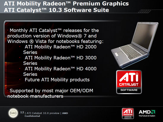 10 3: AMD's New Mobility Driver Program - What's New: AMD's