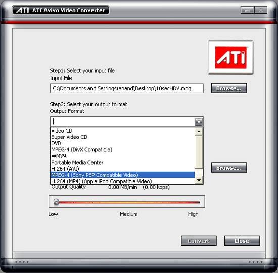 ATI AVIVO ENCODER PACKAGE DRIVERS PC