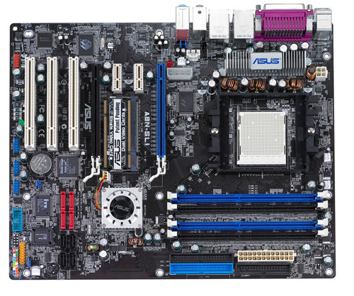 Asus a8n-sli deluxe nforce4 motherboard | bios features.