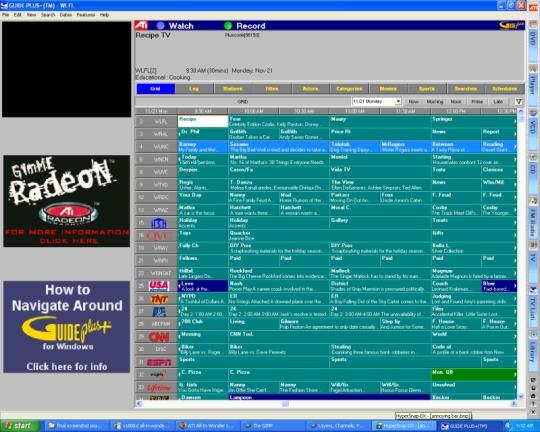 Ati 8500DV Tv Guide Plus Software? | Tom's Hardware Forum