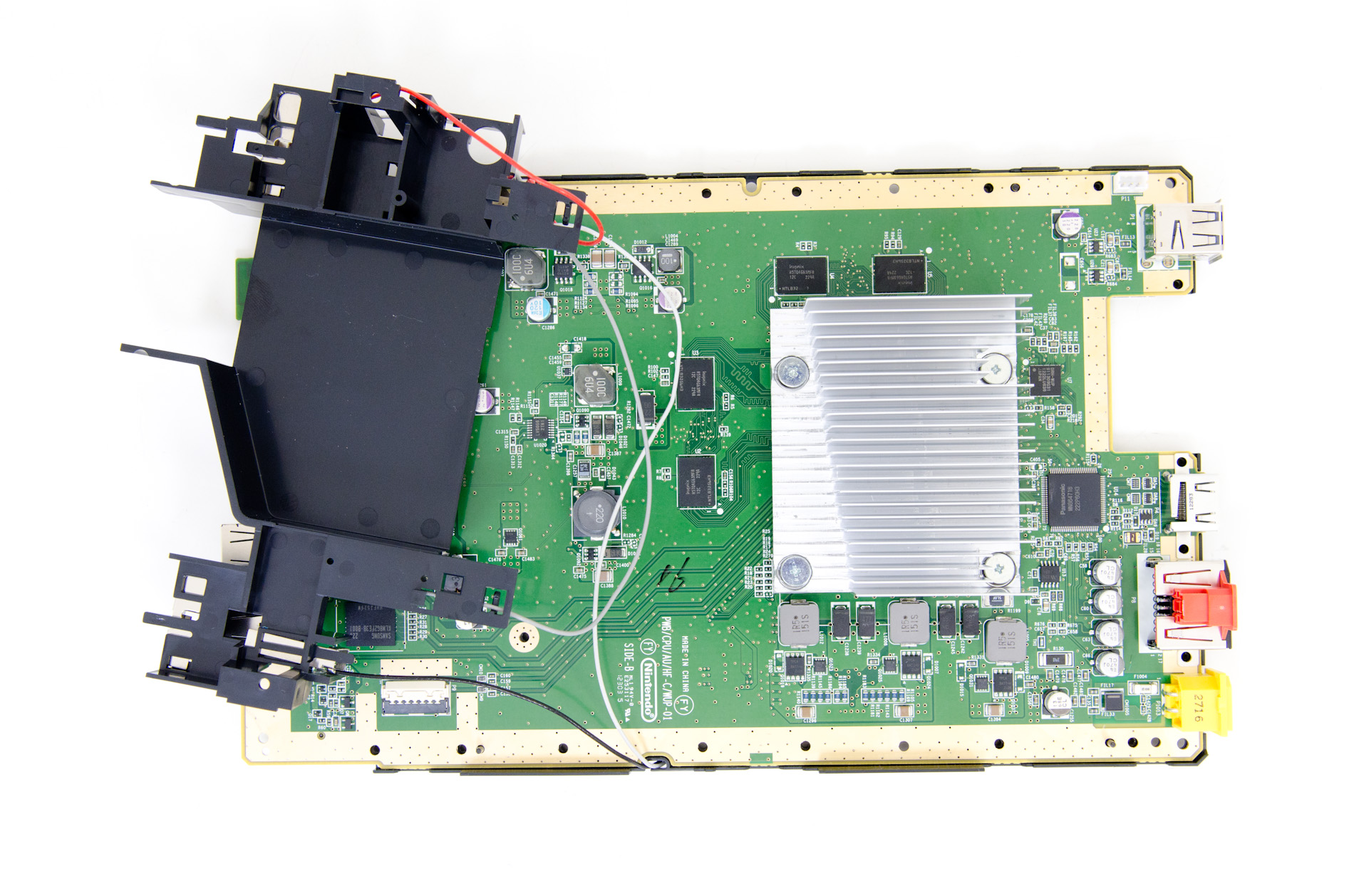 nintendo wii u teardown