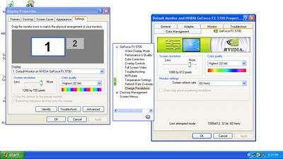 NVIDIA – Underscan - ATI and NVIDIA: Quick Look at HDTV