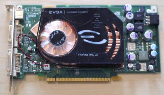 EVGA E GeForce 7950 GT KO