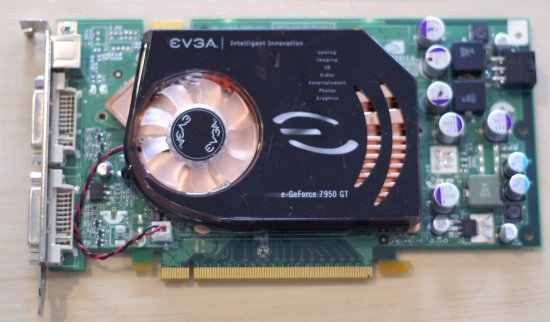 The EVGA 7950 GT KO Comes With A Factory Overclock Of 560MHz On Core And 725MHz Memory Clocks This Isnt Quite As Much Super Clocked