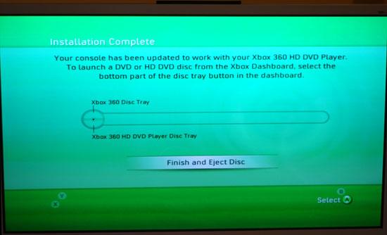 Xbox 360 HD-DVD Drive - HD-DVD Playback - On the Xbox 360 & on