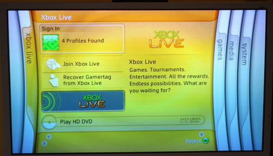 how to read dvd on xbox one