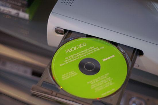 Xbox 360 HD-DVD Drive - HD-DVD Playback - On the Xbox 360